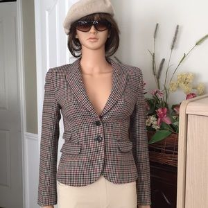 NWOT..H&M plaid blazer